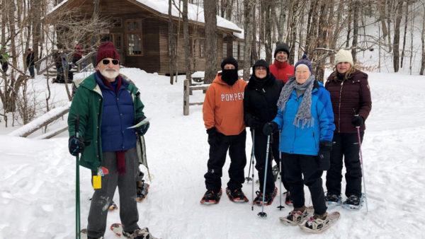 BREIA snowshoe ski event