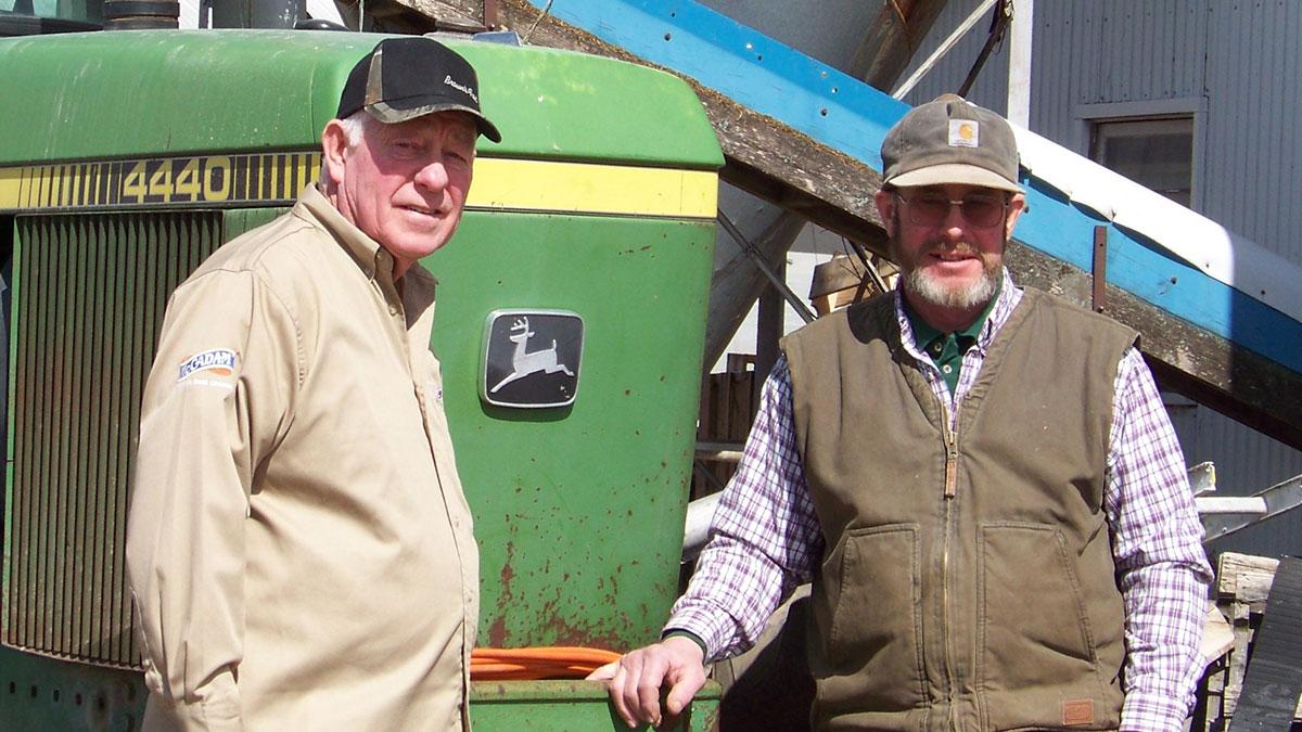 Carl and Randy Horton