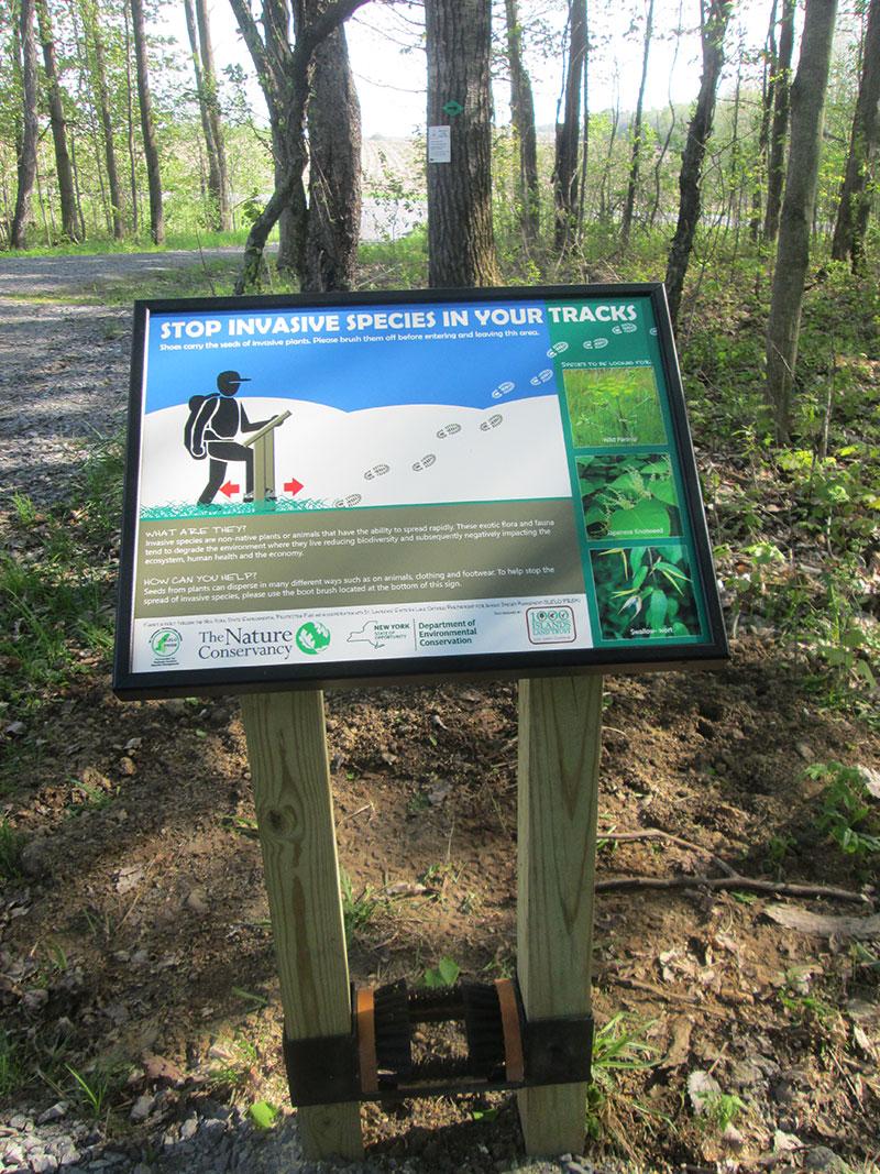 JBWS trail signs