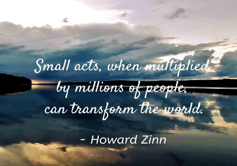 Small Acts Quote