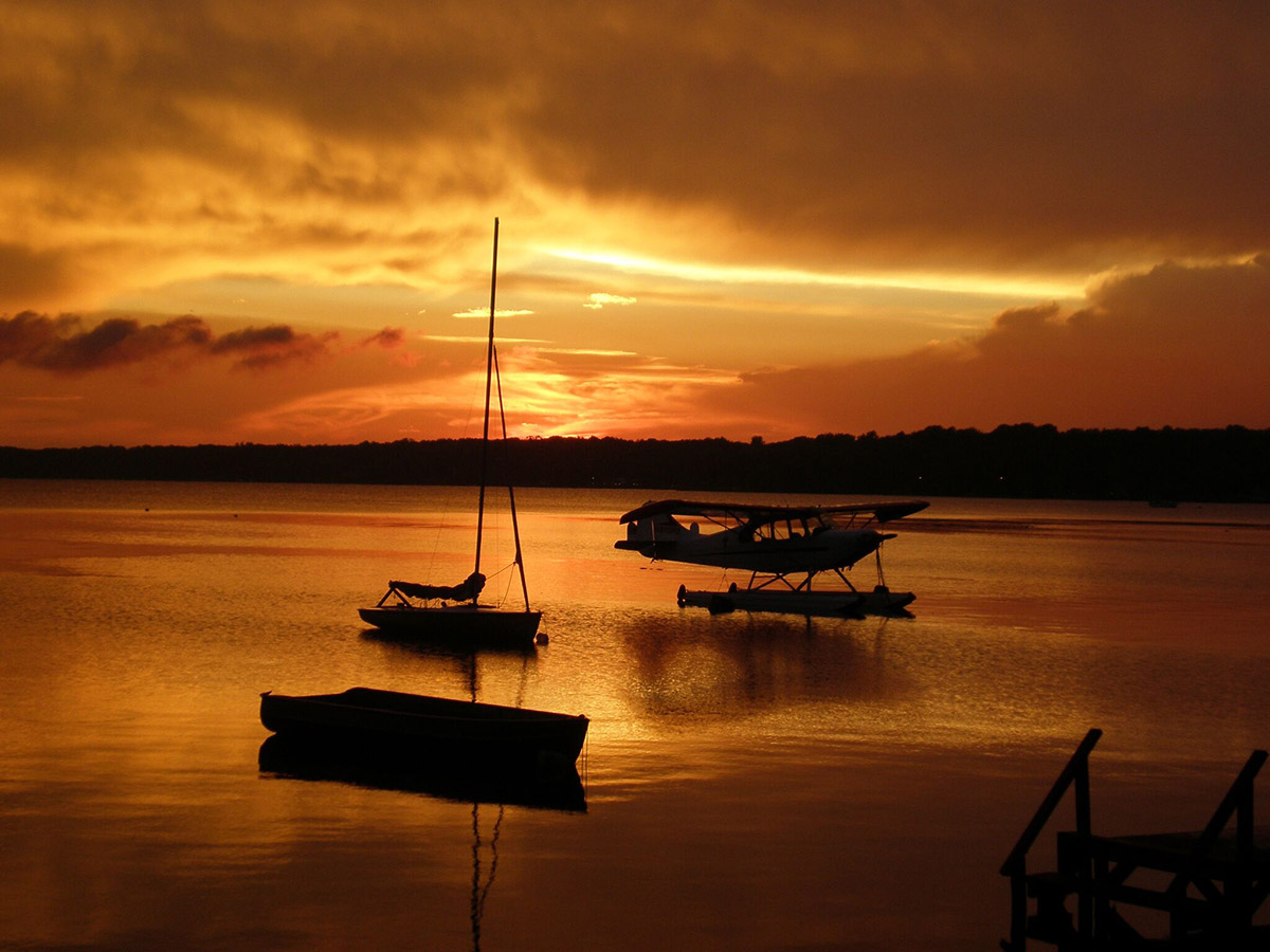 North Bay Oneida Lake by Denise Weatherly