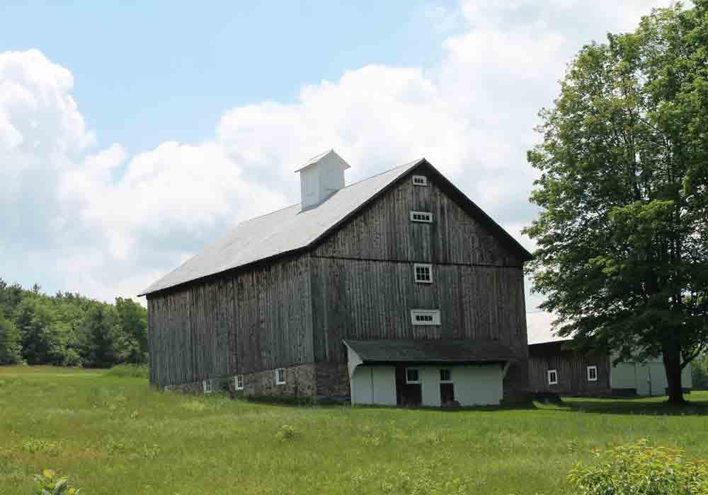 West Leyden Fish Creek Road Barn