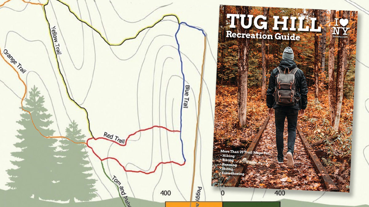 Trail Map guide cover