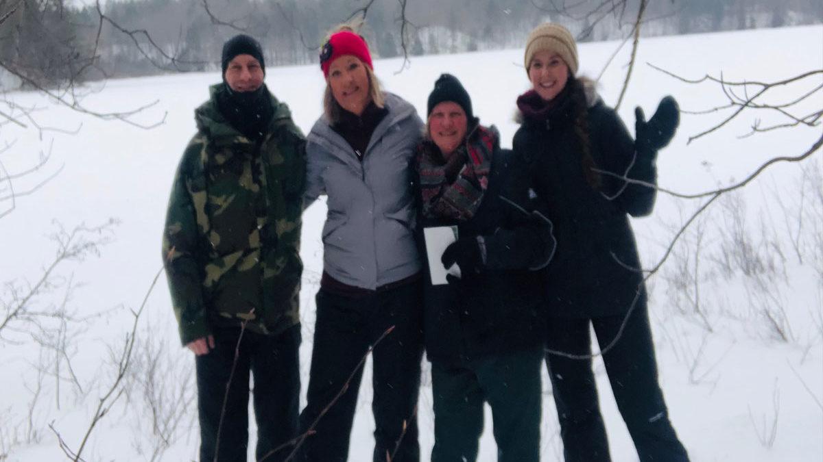 BREIA Ski Snowshoe event