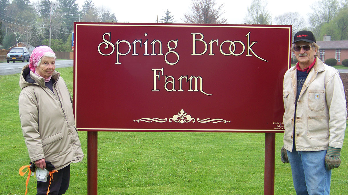 Spring Brook Virginia and Keller by sign
