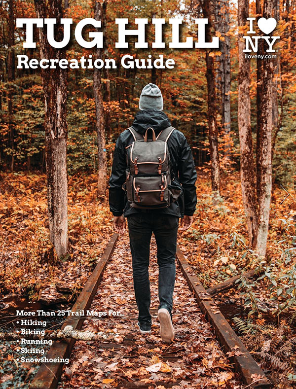 trail map guide for walks, hikes, running, snowshoeing, biking, paddles and more