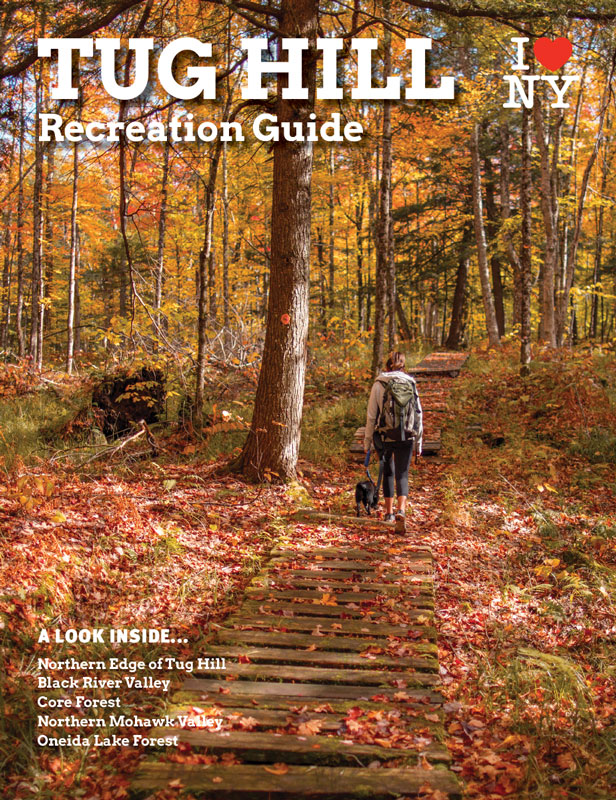 Tug Hill Recreation Guide cover