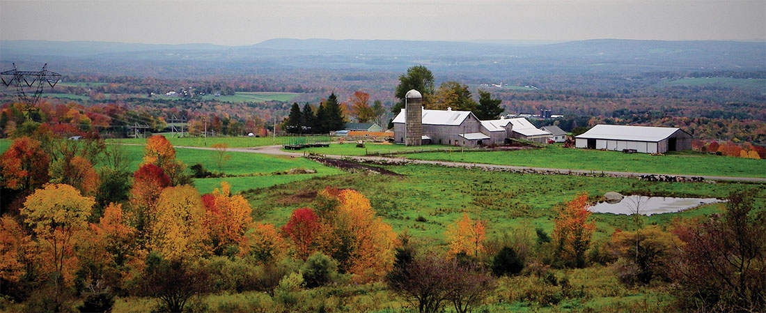 Fall Mohawk Valley from Steuben