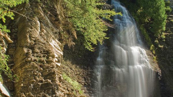 Inman Gulf at Rainbow Falls