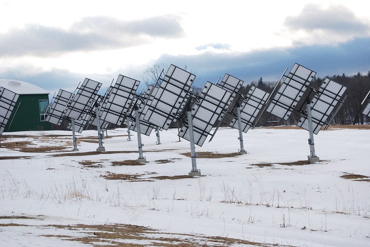 solar pannels putney school